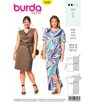 Burda Πατρόν για Φορέματα 6448 a771cf16b8e