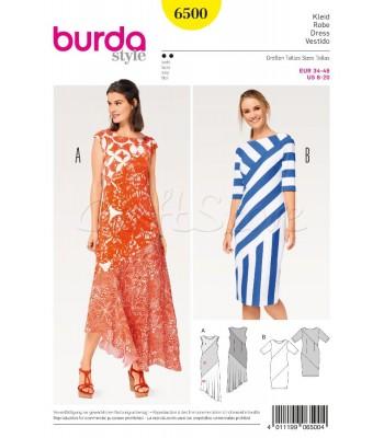Burda Πατρόν για Φορέματα 6500 ae2e8620f2c