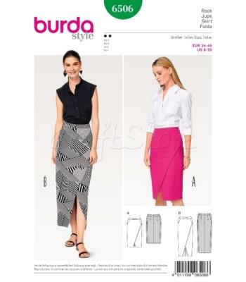 Burda  Πατρόν Φούστες 6506
