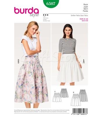 Burda  Πατρόν Φούστες 6507