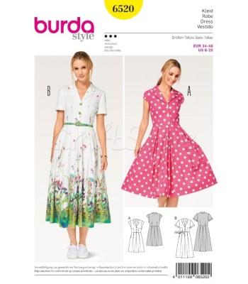 8fa9a91d293 Burda Πατρόν για Φορέματα 6520