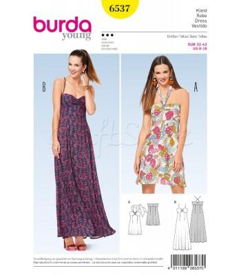 3ddaf3adee8 Burda Πατρόν για Φορέματα 6537