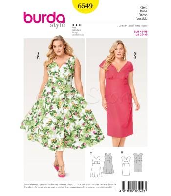 Burda Πατρόν Φορέματα 6548 0ad8c86845b