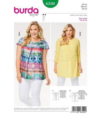 Burda Πατρόν Μπλούζες 6550