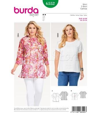Burda Πατρόν Μπλούζες 6552