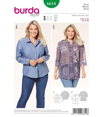 Burda Πατρόν Μπλούζες 6614