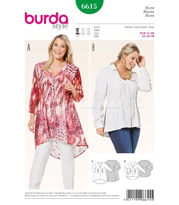 Burda Πατρόν Μπλούζες 6615