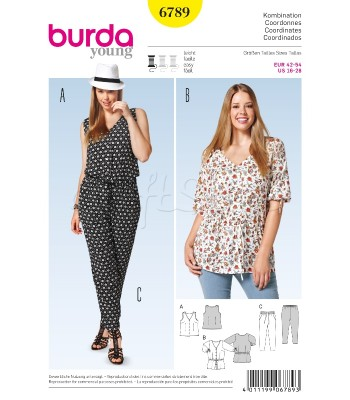 Burda  Πατρόν Συνδυασμοί 6789