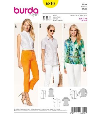 Burda Πατρόν Για Μπλούζες 6810