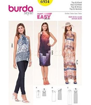 Burda Πατρόν Μπλούζα-Φορέματα 6934