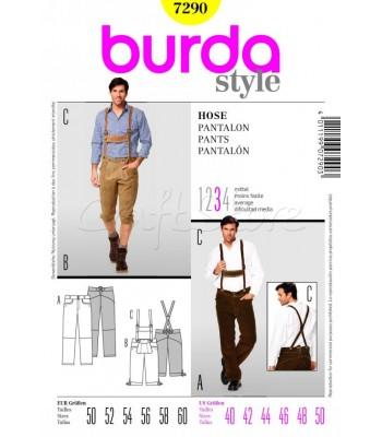 Burda Πατρόν Ανδρικά Παντελόνια 7290
