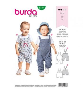 Burda Πατρόν Βρεφικά Ρούχα 9337 fd43ceb1d25