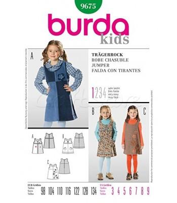 0499faab94c Burda Πατρόν Παιδικές Φούστες 9675