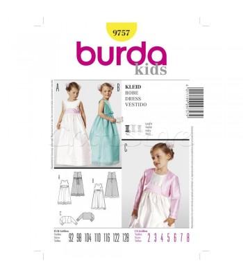 d086b185ad9 Burda Πατρόν Παιδικά Φορέματα 9757