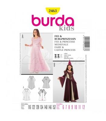 Burda Πατρόν Νεράιδα και Πριγκίπισσα 2463