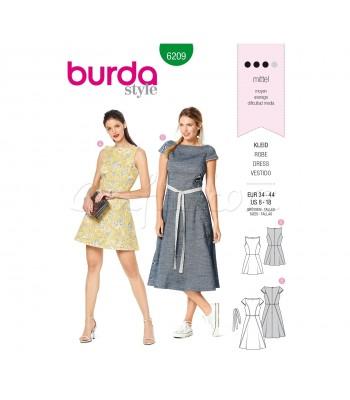 Burda Πατρόν Φορέματα 6209