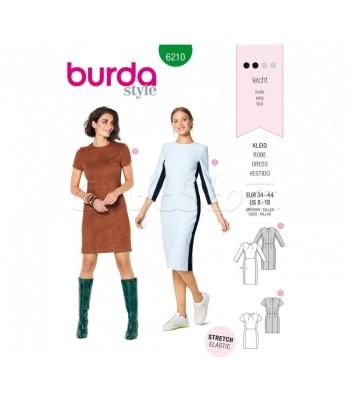Burda Πατρόν Φορέματα 6210