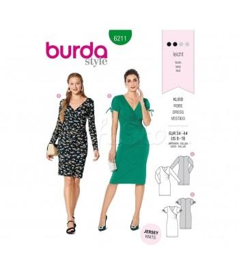 Burda Πατρόν Φορέματα 6211