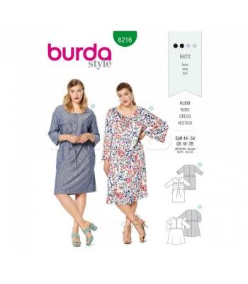 Burda Πατρόν Φορέματα 6216