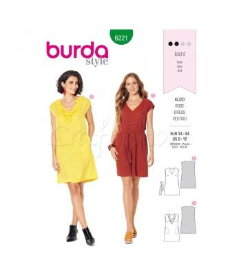 Burda Πατρόν Φορέματα 6221