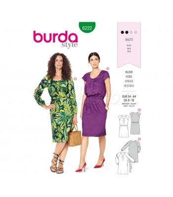 Burda Πατρόν Φορέματα 6222