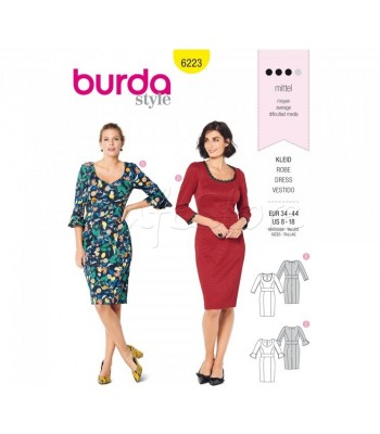 Burda Πατρόν Φορέματα 6223