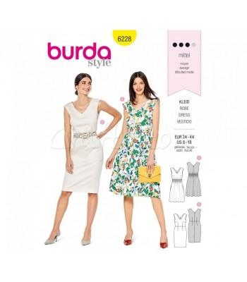 Burda Πατρόν Φορέματα 6228