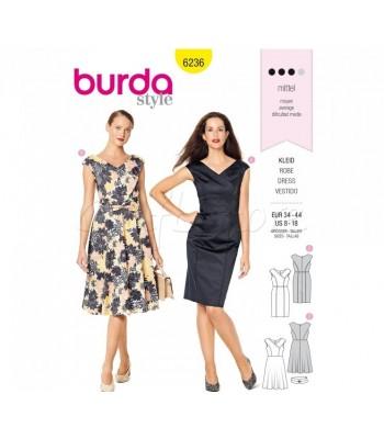 Burda Πατρόν Φορέματα 6236