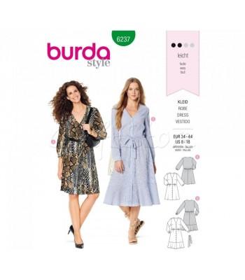Burda Πατρόν Φορέματα 6237