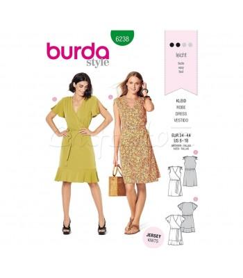 Burda Πατρόν Φορέματα 6238