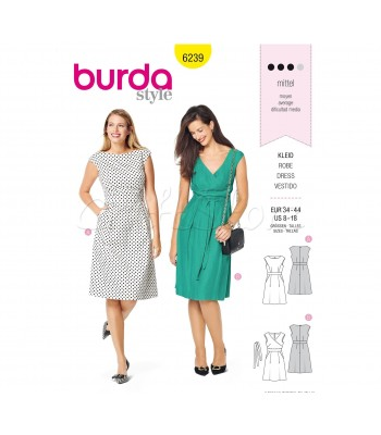 Burda Πατρόν Φορέματα 6239