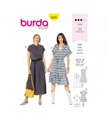 Burda Πατρόν Φορέματα 6240