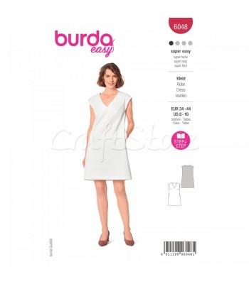 Burda Πατρον  φόρεμα 6048