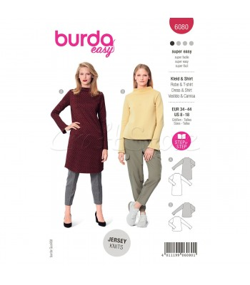 Burda Πατρον  φόρεμα 6080
