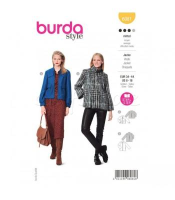 Burda Πατρόν Ζακέτα 6081