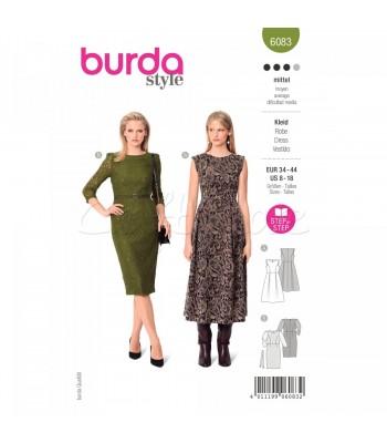 Burda Πατρον  φόρεμα 6083