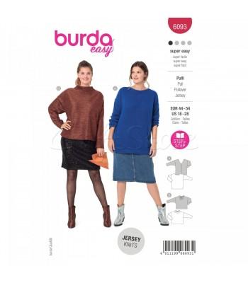 Burda Πατρόν Μπλούζες 6093