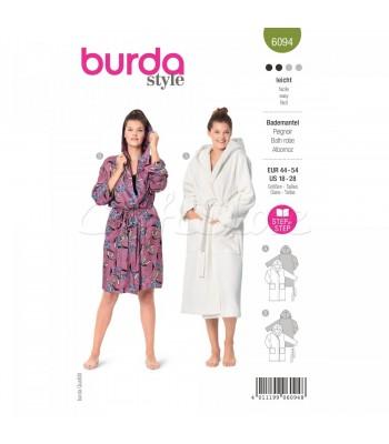 Burda Πατρόν Για Μπουρνούζια 6094