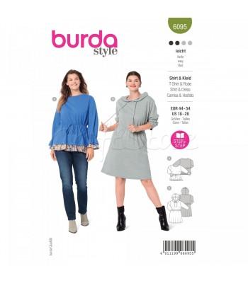 Burda Πατρον  φόρεμα 6095