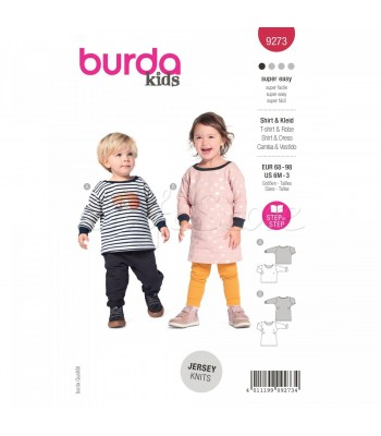 Burda Πατρόν Βρεφικά Ρούχα  9273