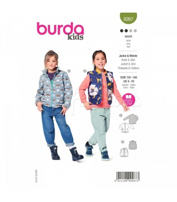 Burda Πατρόν Βρεφικά Ρούχα 9267