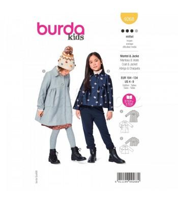 Burda Πατρόν Βρεφικά Ρούχα 9268