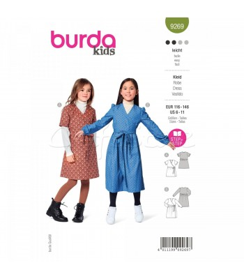 Burda Πατρόν παιδικά Ρούχα 9269