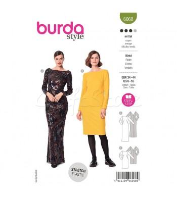 Burda Πατρον  φόρεμα 6068