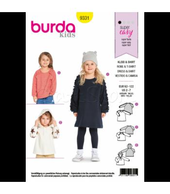 Burda Πατρόν Κοριτσίστικα Ρούχα 9331