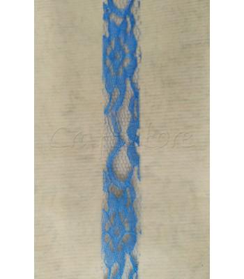 Κορδέλα Δαντέλα 2.5cm Μπλε Ρουά/ μέτρο