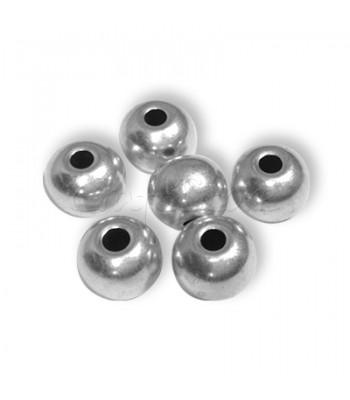 Ορειχάλκινες Μπίλιες 12x10.3mm (Ø 4.2mm) (10 τεμάχια)