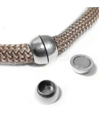 Ορειχάλκινο Μαγνητικό Κούμπωμα 16.5x6.8mm (Ø 10.5mm)