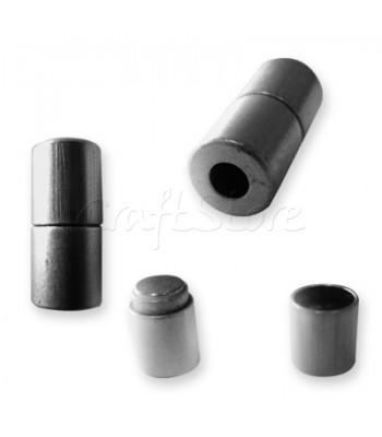 Ορειχάλκινο Μαγνητικό Κούμπωμα 10x21mm (Ø 5mm)