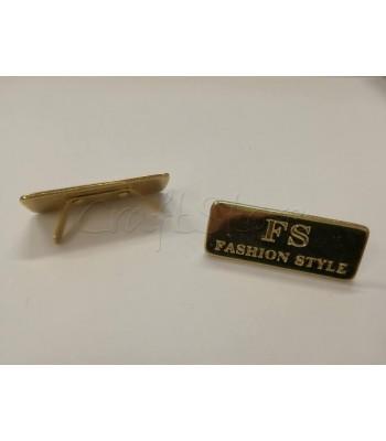 Ταμπελάκι ομορφιάς  Fashion Style 4cm Χρυσό